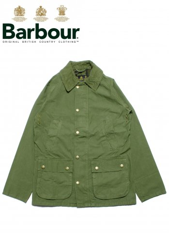 Barbour Sl Bedale バブアー ビデイル オーバーダイ スリムフィット MCA0299 オリーブ
