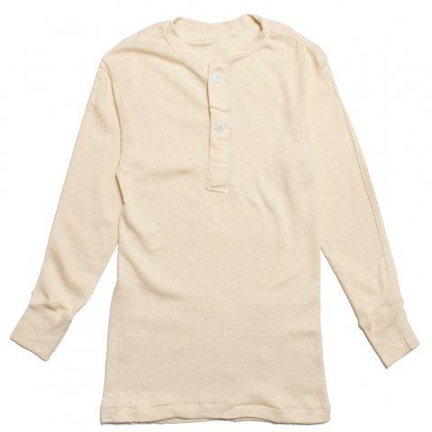 US MILITARY ヘンリーネックシャツ ミリタリー ウォレスベリーシャツ Dead Stock