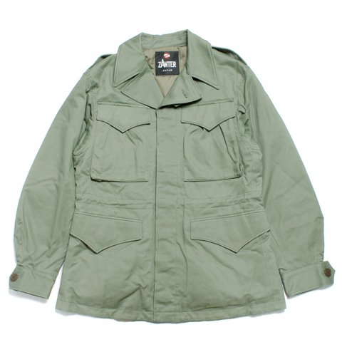 ZANTER ザンター M-43 フィールドジャケット ダウン 日本製 オリーブ