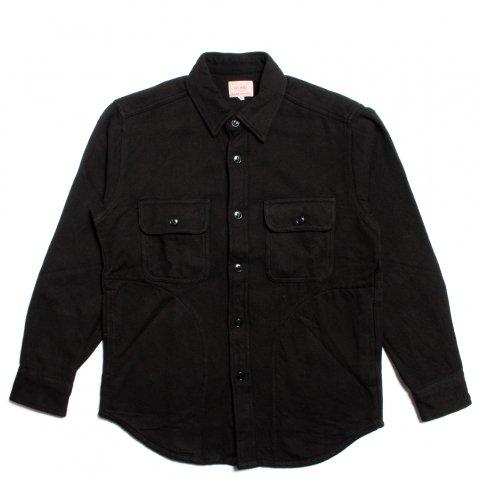 BIG MIKE HEAVY FLANNEL SHIRTS JACKET ビッグマイク ヘビー フランネルシャツ ジャケット ブラック