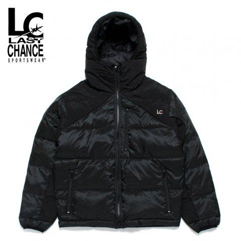 LAST CHANCE ラストチャンス エクストリーム フードジャケット 中綿ジャケット ブラック