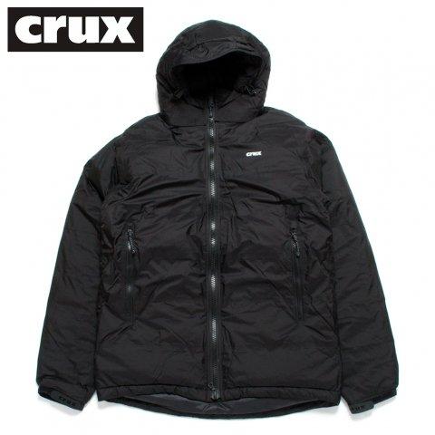 crux ダウンジャケット クラックス マグマジャケット 防水透湿 800 EUフィルパワー ブラック
