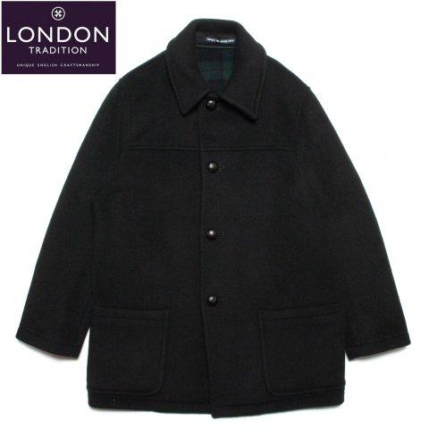 LONDON TRADITION ロンドントラディション JACKSON Half Length Coat メンズ ハーフコート ブラック