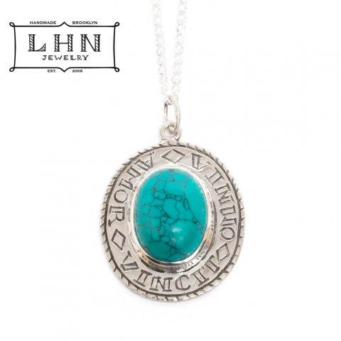 LHN Jewelry ネックレス エルエイチエヌジュエリー Amor Necklace ハンドメイド アメリカ製 ターコイズ