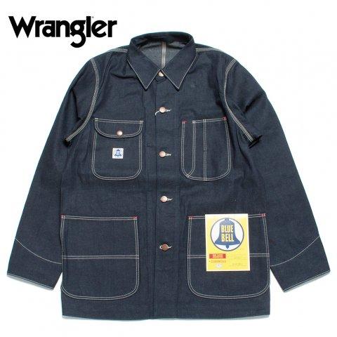 Wrangler ラングラー ブルーベル デニムカバーオール Blue Bell Work Series インディゴ