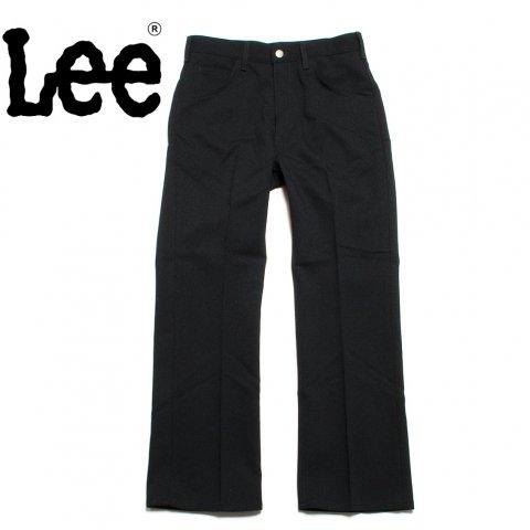 Lee リー ブーツカット パンツ 70's ホップサック ブラック