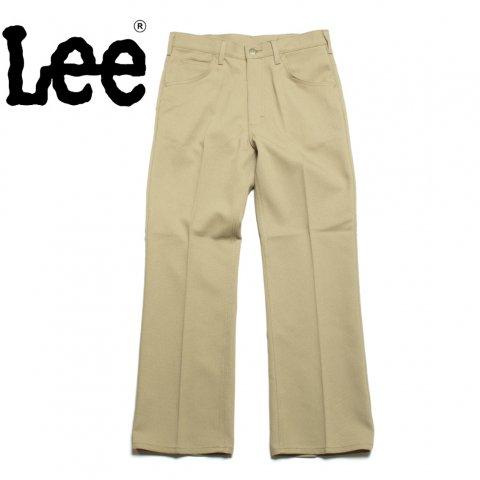 Lee リー ブーツカット パンツ 70's ホップサック ベージュ