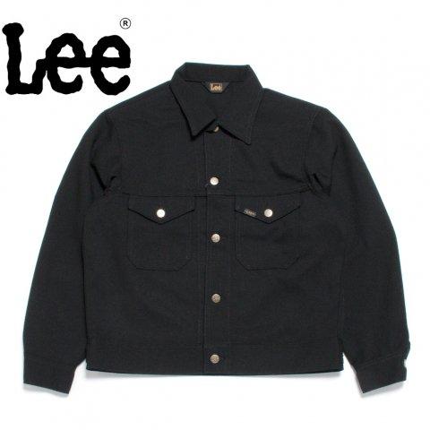 Lee リー ジャケット 70's ビッグシルエット ホップサック ブラック