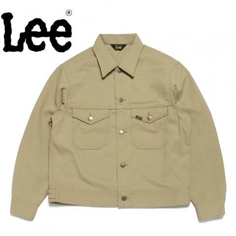 Lee リー ジャケット 70's ビッグシルエット ホップサック ベージュ