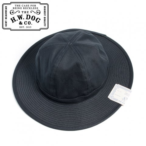 THE H.W.DOG&CO. FATIGUE HAT ドッグアンドコー ファティーグハット D-00395 ブラック