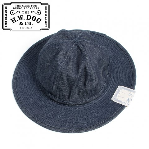THE H.W.DOG&CO. FATIGUE HAT ドッグアンドコー ファティーグハット D-00395 インディゴ