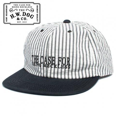 THE H.W.DOG&CO. SEERSUCKER CAP ドッグアンドコー シアサッカー キャップ D-00394 ブラック