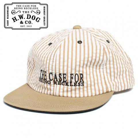 THE H.W.DOG&CO. SEERSUCKER CAP ドッグアンドコー シアサッカー キャップ D-00394 ベージュ