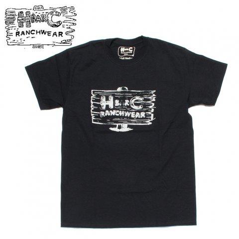 H BAR C エイチバーシー プリント Tシャツ サインポスト Signpost ブラック