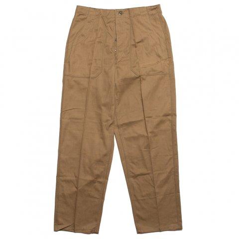 チェコ軍 Czech Mil Cook Pants コックパンツ ツイル生地 (DEAD STOCK)