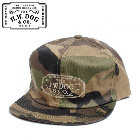 THE H.W.DOG&CO. TRACKER CAP CAMO ドッグアンドコー トラッカー キャップ ウッドランドカモ D-00004-K