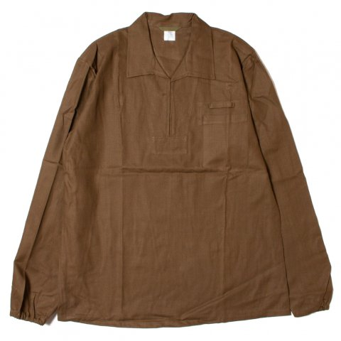 チェコ軍 Czech Mil Pullover Work Shirts プルオーバーシャツ (DEAD STOCK)