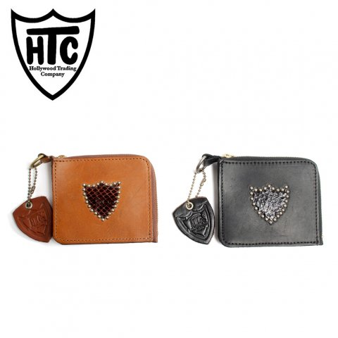 HTC エイチティーシー カードケース 財布 Hollywood Trading Company #SHIELD CARD CASE