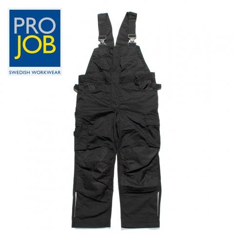 PROJOB プロジョブ オーバーオール ワークウェア Bib Overall ブラック