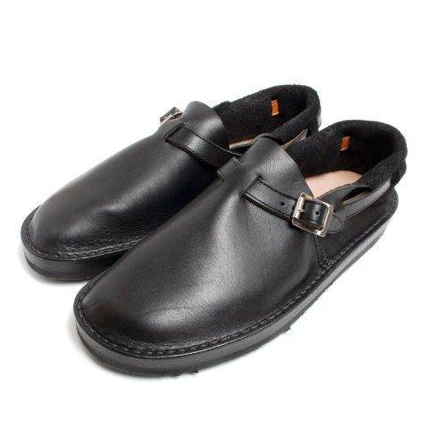 TOKYOSANDAL HEEL HOLD SLIP-ON トーキョーサンダル ヒールホールドスリッポン レザー ブラック