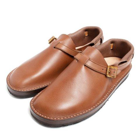 TOKYOSANDAL HEEL HOLD SLIP-ON トーキョーサンダル ヒールホールドスリッポン レザー ブラウン
