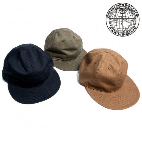 COOPERSTOWN BALL CAP クーパーズタウン ボールキャップ ヘリンボーン コットン アメリカ製