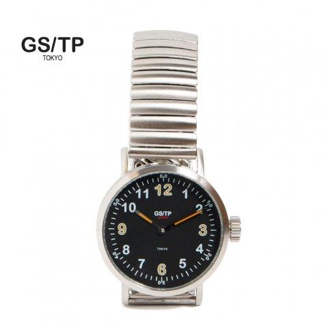 GS/TP ジーエスティーピー 腕時計 ミリタリーウォッチ GOLIATH RECORDER DIAL ブラックダイアル
