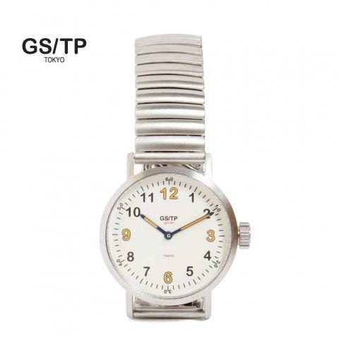 GS/TP ジーエスティーピー 腕時計 ミリタリーウォッチ GOLIATH RECORDER DIAL ホワイトダイアル