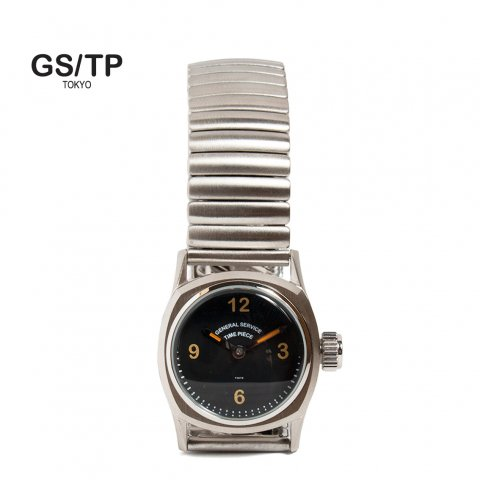 GS/TP ジーエスティーピー 腕時計 ミリタリーウォッチ BOTTLETOP DIAL ブラックダイアル