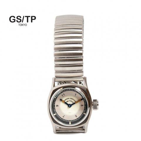 GS/TP ジーエスティーピー 腕時計 ミリタリーウォッチ TRITONE BULLSEYE DIAL ホワイトダイアル