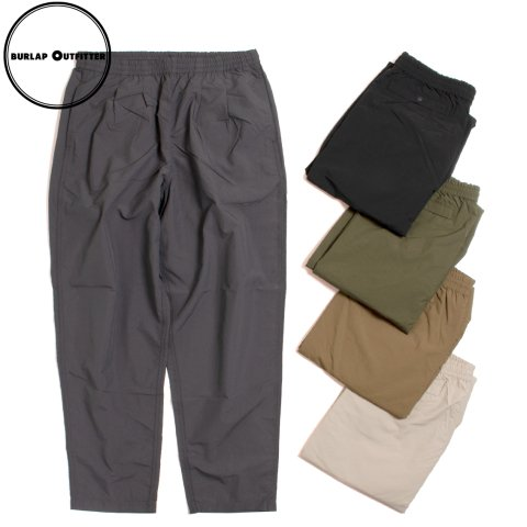 BURLAP OUTFITTER TRACK PANT SOLID バーラップ アウトフィッター サプレックスナイロン トラックパンツ