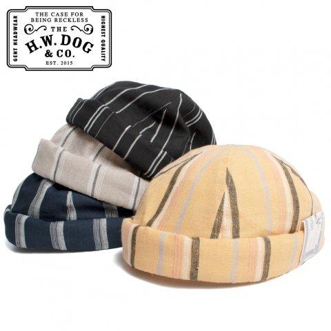 THE H.W.DOG&CO. ドッグアンドコー ロールキャップ リネン HAVANA ROLL CAP D-00520 日本製