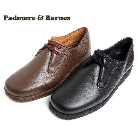 PADMORE & BARNES パドモアアンドバーンズ P500 プレーントゥシューズ Original Sports Shoe