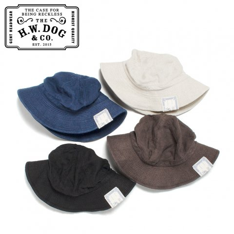 THE H.W.DOG&CO. ファティーグハット リネン ドッグアンドコー LINEN FATIGUE HAT D-00526 日本製