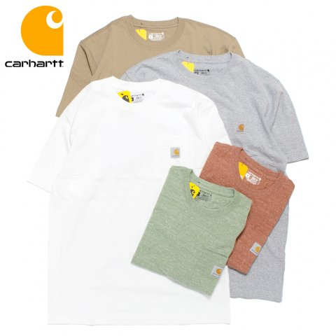 Carhartt カーハート Tシャツ 半袖 ポケット付き 6.75オンス ルーズフィット
