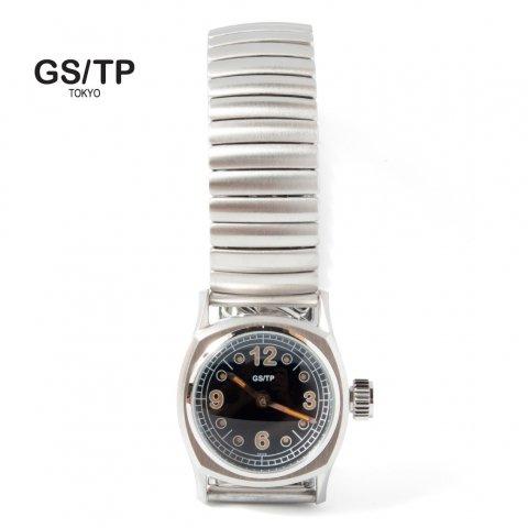 GS/TP ジーエスティーピー 腕時計 ミリタリーウォッチ FRIED EGGS DAIL ブラックダイアル QMD03B