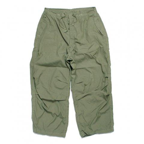 アメリカ軍 US Military Snow Camo Pants スノーカモ オーバーパンツ Pocket & Garment dye Custom OLIVE (DEAD STOCK)
