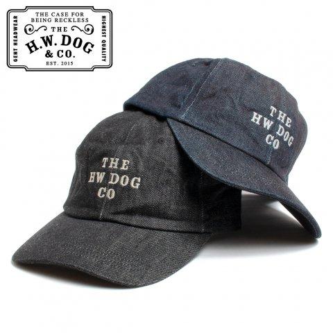 THE H.W.DOG&CO. ドッグアンドコー 6パネルキャップ ウォッシャブル デニム WASH DENIM CAP 日本製