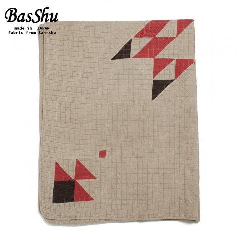 BasShu バッシュ パッチワーク キルトカバー 140×180 Patchwork Quilt Cover ベージュ