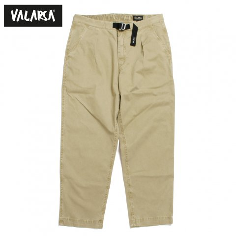 VALARSA ヴァラールサ SPITZ TWILL テーパード イージーパンツ イタリア製