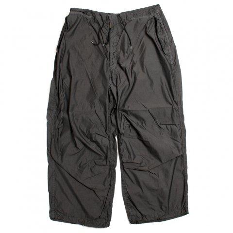 アメリカ軍 US Military Snow Camo Pants スノーカモ オーバーパンツ Pocket & Garment dye Custom BLACK (DEAD STOCK)
