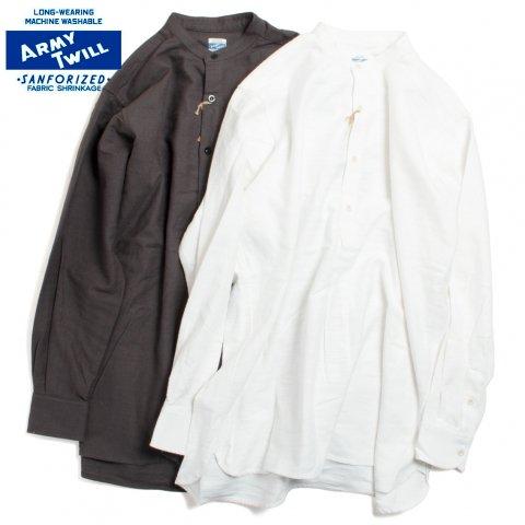 ARMY TWILL アーミーツイル Cotton Slab Brushed Sleeping Shirt スラブコットン ブラッシュド スリーピングシャツ