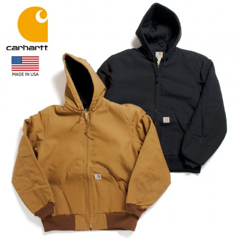 Carhartt カーハート アクティブジャケット J140 DUCK QUILTED FLANNEL-LINED アメリカ製
