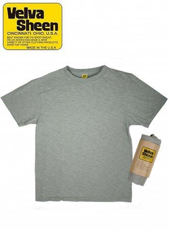 Velva Sheen  ベルバシーン YellowRebel イエローレーベル ショートスリーブレギュラーロールTシャツ グレー