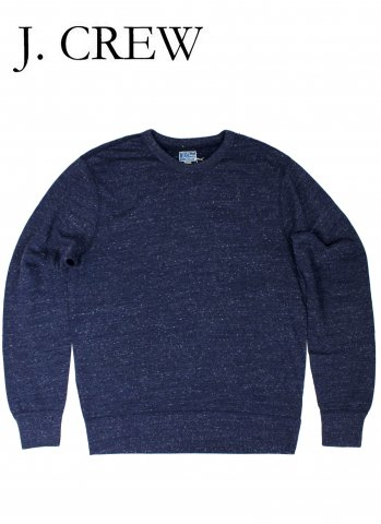 <img class='new_mark_img1' src='//img.shop-pro.jp/img/new/icons20.gif' style='border:none;display:inline;margin:0px;padding:0px;width:auto;' />J.CREW ジェイクルー ライトウェイト スウェット シャツ ネイビー