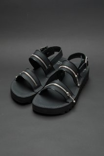 TEARS OF SWAN×KIDS LOVE GAITE-SHARKSOLE ZIP SANDAL