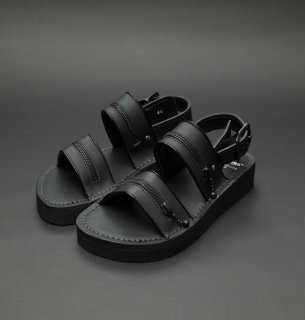 TEARS OF SWAN×KIDS LOVE GAITE×utility-RUBBER SOLE ZIP SANDAL(15足限定)