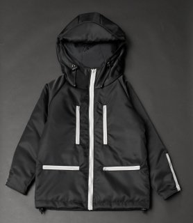 TEARS OF SWAN-KIDS NYLON ZIP MOUTAIN PARKER