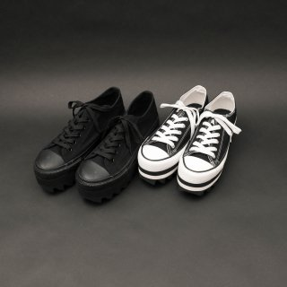 TEARS OF SWAN-SHARK SOLE PLATFORM SNEAKERS