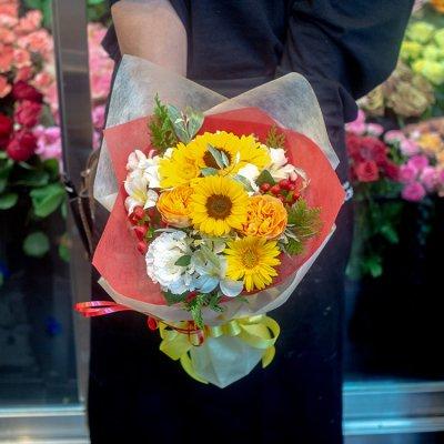 季節の花束(小)ブーケタイプ